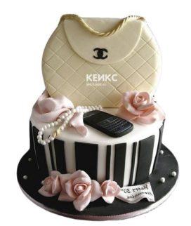 Торт девушке на 22 года 1
