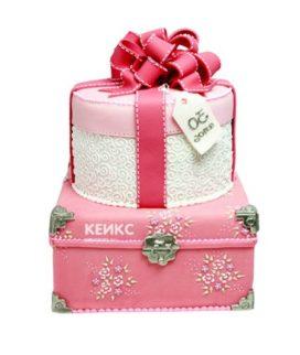 Торт девушке на 22 года 2