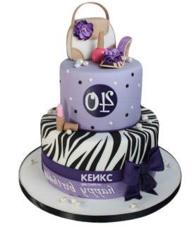 Торт девушке на 22 года 5