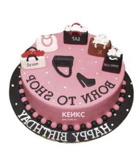 Торт девушке на 24 года 5