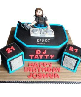 Торт для диджея  10