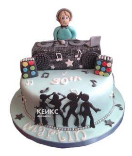 Торт для диджея 8
