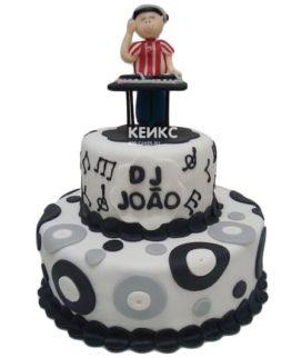 Торт для диджея 9