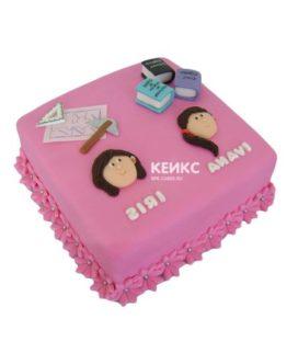 Торт для двух сестер