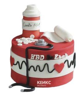Торт для кардиолога-4