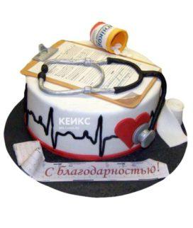 Торт для кардиолога-6