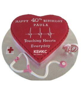 Торт для кардиолога-7