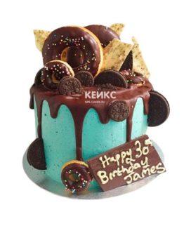 Торт для крестного 2