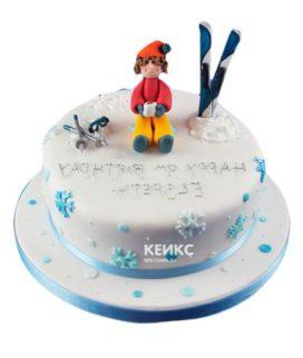 Торт для лыжника-10