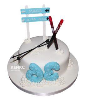 Торт для лыжника-12