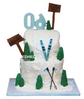 Торт для лыжника-13