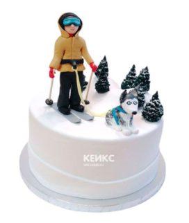 Торт для лыжника-2