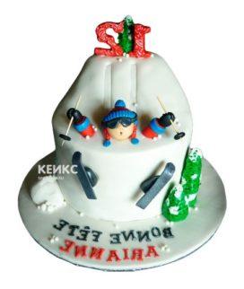 Торт для лыжника-3