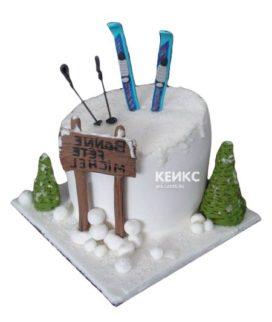 Торт для лыжника-4