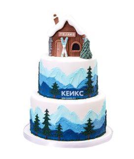 Торт для лыжника-8