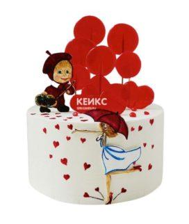 Торт для мамы и дочки-1