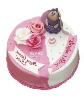 Торт для мамы и дочки-3