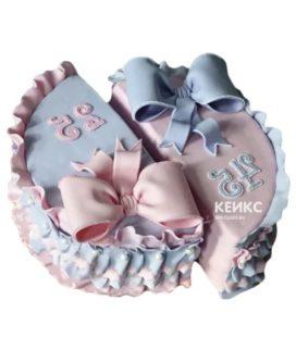 Торт для мамы и дочки-4