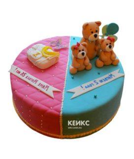 Торт для мамы и сына-2