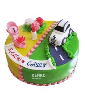 Торт для мамы и сына 3