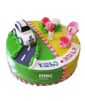 Торт для мамы и сына-3