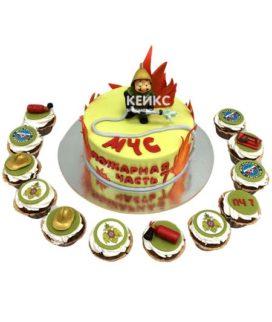Торт для МЧС-1