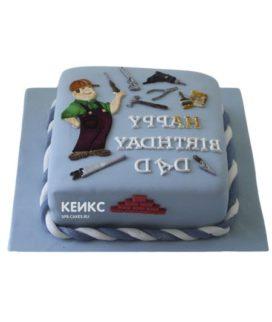 Торт для мужа и папы