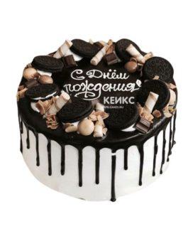 Торт для мужчины без мастики-2