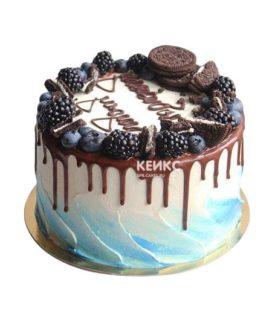 Торт для мужчины без мастики-4