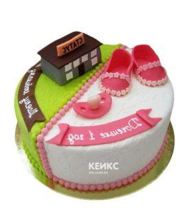 Торт для папы и дочки-1