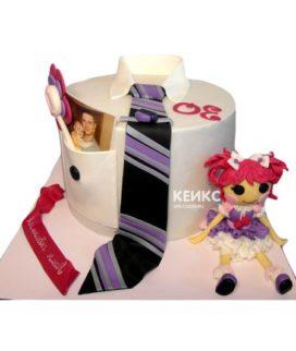 Торт для папы и дочки