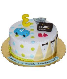 Торт для папы и сына