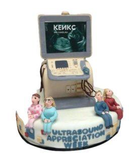 Торт для рентгенолога