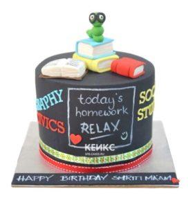 Торт для учителя физики