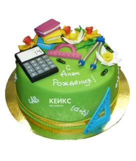 Торт для учителя математики-2