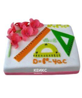 Торт для учителя математики-3