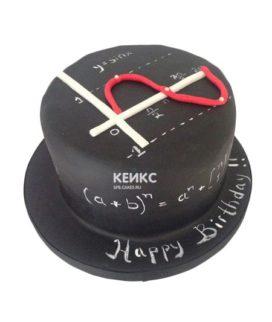 Торт для учителя математики-4