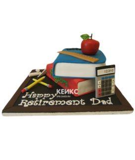 Торт для учителя математики-6