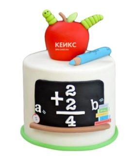 Торт для учителя математики-7