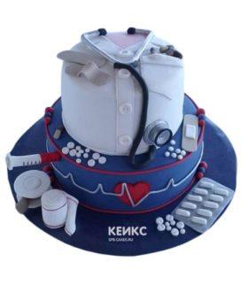 Торт для врача мужчины-1