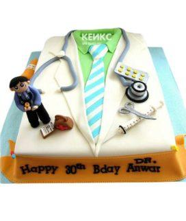 Торт для врача мужчины-12