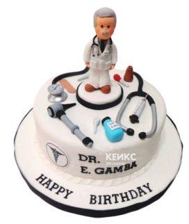 Торт для врача мужчины-13