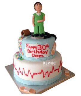 Торт для врача мужчины-2