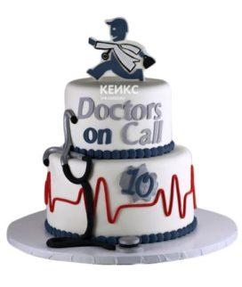 Торт для врача мужчины-4