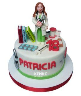 Торт для врача женщины-1