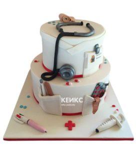 Торт для врача женщины-12