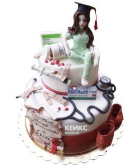 Торт для врача женщины-17