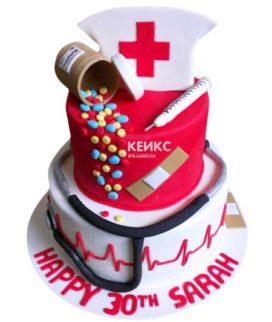 Торт для врача женщины-18
