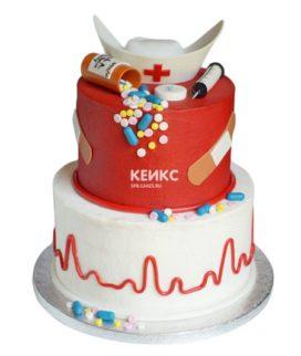 Торт для врача женщины-3