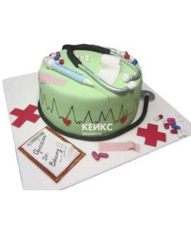 Торт для врача женщины-4